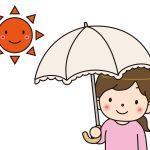 紫外線対策には帽子と日傘どっちが良いの?日傘だけだと効果ない?
